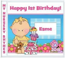 First Nursery Rhymes ♥ 1st Christmas ♥ Easter ♥ Birthday 1st Gifts for Baby Girl