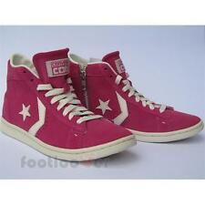 Converse Star Player Pro Leather Lp Mid Suede Zip 141608C women's pink sneakers