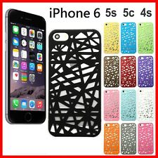 Apple iPhone 6 Hollow Bird Nest Snap On Phone Case Cover For iPhone 5s 5c 5 4s 4