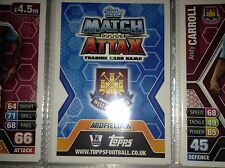 Match Attax 13 14 Individual West Ham Players Base free postage