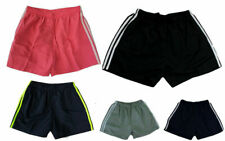 Mens Womens Casual Training Running Jogging Gym Sport Microfibre Shorts S-3XL