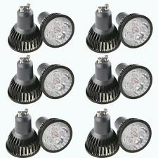 Ultra Bright MR16 / GU10 Epistar Not Dimmable LED 4x3W spot lights lamp bulb 12W