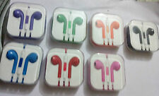 for iphone 5 5g 5c 5s ipod mini ipad 2 3g 3gs 4 4s handsfree coloured trend new