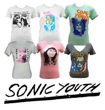 SONIC YOUTH various designs Girly Fit T-Shirt NEW S M L XL goo bunny authentic