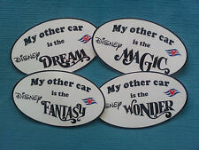 "DCL ~ Disney Cruise Lines ""My other car is"" Car Magnet ~ Show Your Love!"