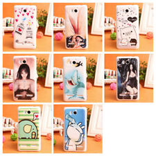 Protect Hard Case Back Protective Skin Phone Cover For Huawei Ascend G600 U8950D