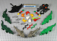 LEGO - 31 pcs Water Sea Animals Lot Shark Octopus Crocodile Alligator Frog Large