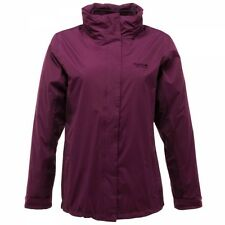 LADIES 3in1 FLEECE/WATERPROOF JACKET SIZES 10-24 PURPLE RRP £70 RPrya