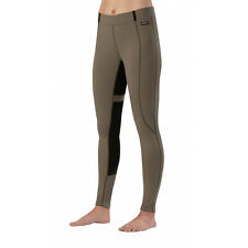 Kerrits Flex Tight II Full Seat Breeches - Ladies - TAN & BLACK -Diff Sizes