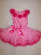 BNWT GIRLS PARTY DRESS - SIZE 2 TO 7 HOT PINK & PURPLE