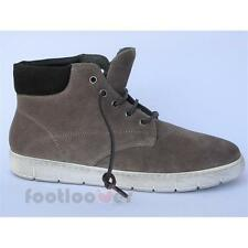 Men's Kebo 11171T turtledove suede casual shoes warm winter boots Made in Italy