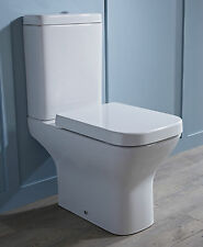 640 Compact Small Mini Short Projection Close Coupled Space Saver Square Toilet