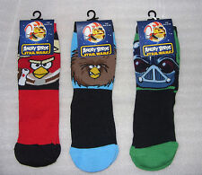 Mens / Kids ANGRY BIRDS STAR WARS socks in 3 Designs and 4 sizes