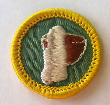Girl Scout 1963-80 Cadette CERAMICS & POTTERY BADGE, CHOOSE! Vase Firing Patch