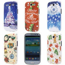 Christmas Castle Cloud Image Hard PC Back Case Cover for Samsung Galaxy S3 i9300