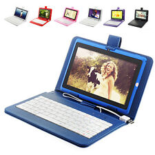 "7"" Android 4.0 8GB TFT Tablet PC WIFI Multi-Core Dual Camera W USB Keyboard Case"