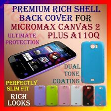 PREMIUM RICH MICROMAX CANVAS 2 PLUS A110Q HARD SHELL BACK COVER CASE PANEL NEW
