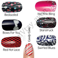Avon Nail Art Design Strips // 18 Nail Art Wrap 3D Party // Various (RRP £8)