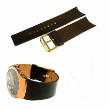 Genuine Leather Watch Strap / Band Replacement for Skagen 583XLGLD, 583XLRLM