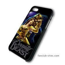 Beauty And The Beast 4 Disney iphone 4 4g 4s 5 & galaxy S3 S4 hard case cover