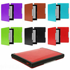 ULTRA THIN PU LEATHER CASE COVER AUTO WAKE SLEEP FOR KOBO AURA