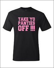 Take Yo Panties Off Shirt snoop this is the end craig robinson Pink Black tshirt