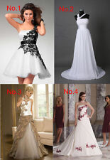 New Stock Wedding Dresses Prom/Bridal Gown Stock Size:6-8-10-12-14-16