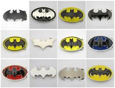 New Various Fashion  Batman Superman Mens Metal Belt buckle Leather