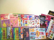 All Occasions stickers Birthday Thanks Travel Peanuts Bratz Choose one - NEW