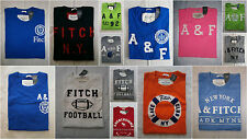 Abercrombie & Fitch Men Muscle Fit Embroidered Tee T Shirt Size S&M&L&XL