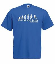 EVOLUTION SKATE funny gift NEW Boy Girls Kids size T SHIRT TOP Age 1-15 Year old