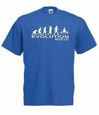EVOLUTION WEIGHT LIFT GYM NEW Boy Girls Kids size T SHIRT TOP Age 1-15 Year old