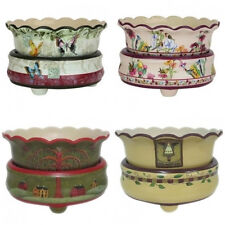 16  Ceramic Candle Warmers Scented Plug in Tart Candle & Oil Warmer, Scentsy