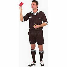 NEW Uhlsport Referees Short - XL - Woven Adults Ref Short - With Pockets