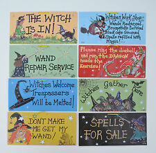 Fun Hanging Witches Signs ~ 37 to choose from!! ~ Great Gifts ~ Pagan ~ Wicca ~