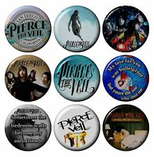 PIERCE THE VEIL Various Badges 2.5 cm 1 inch Button HandCrafted