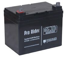 2 x 12V 12AH WHEELCHAIR & Mobility Scooter Batteries