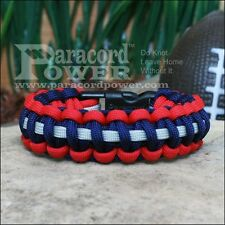 New England Patriots Paracord Survival Bracelet 3-color Made in USA