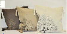 Luxury new style design beige, brown, olive cushion covers 40 x 40 pillowcase