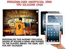 PERSONALISED UNOFFICIAL HULL CITY IPAD HARD SILICONE CASE