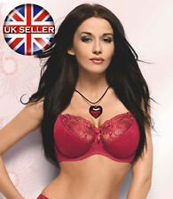 Sexy Comfotable Plus Size Valentina Bra UK 44 Large Cup Sizes D - E by Gorsenia