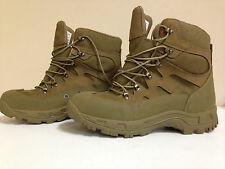ARMY ISSUED WELLCO M760 COMBAT HIKER MULTICAM TAN BOOTS NWT