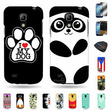 For Samsung Galaxy S4 Mini i9190 Tough Plastic Variety of Design Cover Cases