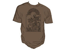 Genki Gear Robert Rankin Mars for Boys Steampunk Nouveau Brown Shirt