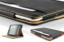 New Soft Leather Wallet Smart Case Cover Sleep/Wake Stand for APPLE iPad