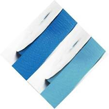 """Grosgrain Ribbon 2"""" /50mm Wide 5 Yards ,Lot Blue s #303 to #350"""