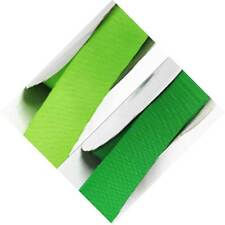 "Grosgrain Ribbon 1"" / 25mm Wide Wedding 5 Yards, Lime to Green"