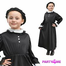 Kids Victorian Royal Queen Victoria Girls Book Week Fancy Dress Costume Outfit