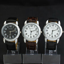 Fashion Casual Style Youngster Teenager Boys Quartz Classic Wrist Watch Watches