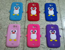 for micromax canvas 2 plus + a110 a110q soft back case silicone cover penguin
